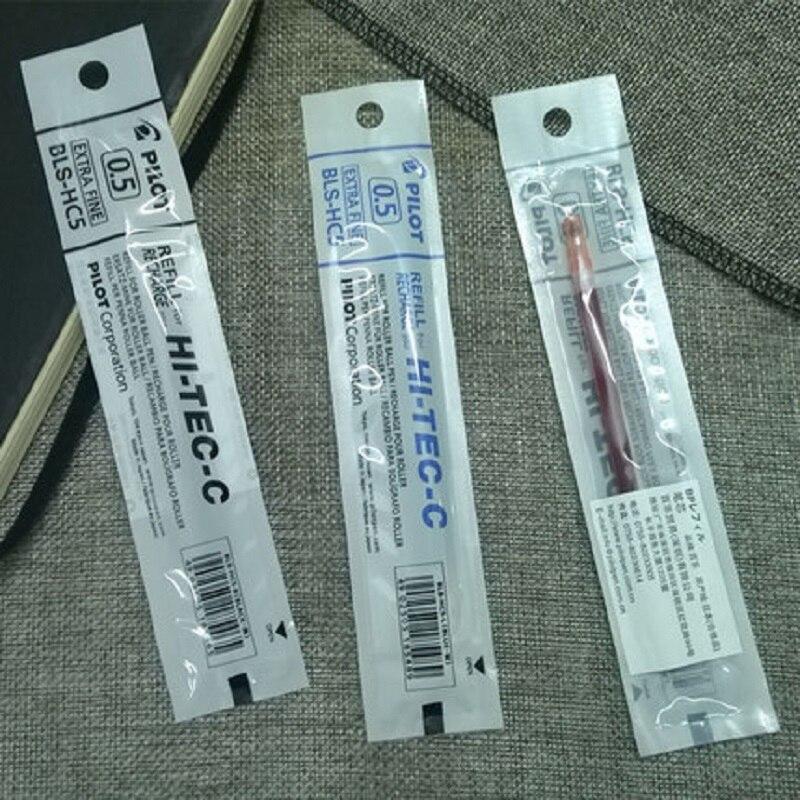 Recarga de bolígrafo Pilot BLS-HC5, 0,5mm, adecuado para BLLH-20C Hi-Tec C 10 unids/lote