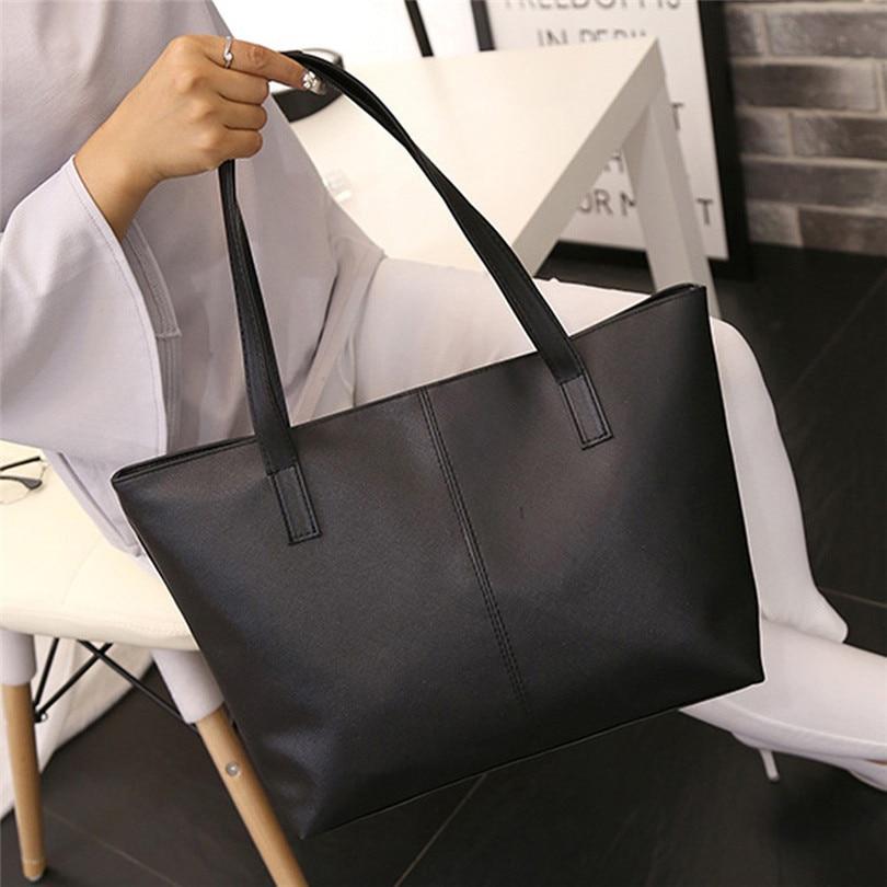 Bolsa de ombro casual feminina bolsa de ombro de couro celebridade bolsa de viagem grande saco bandouliere femme borse da donna a50
