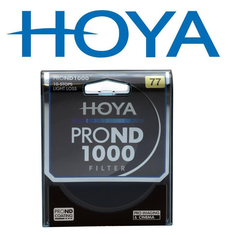 Hoya nd 1000 フィルター 10 停止しライト損失レンズフィルター 62 ミリメートル 67 ミリメートル 72 ミリメートル 77 ミリメートル 82 ミリメートルニュートラル密度減prond 1000 フィルター