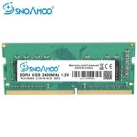 SNOAMOO מחשב נייד מחברת DDR4 RAM זיכרון 8 gb 2133 mhz 2400 mhz SO-DIMM עבור מחברת Memoria גבוהה ביצועים אילים