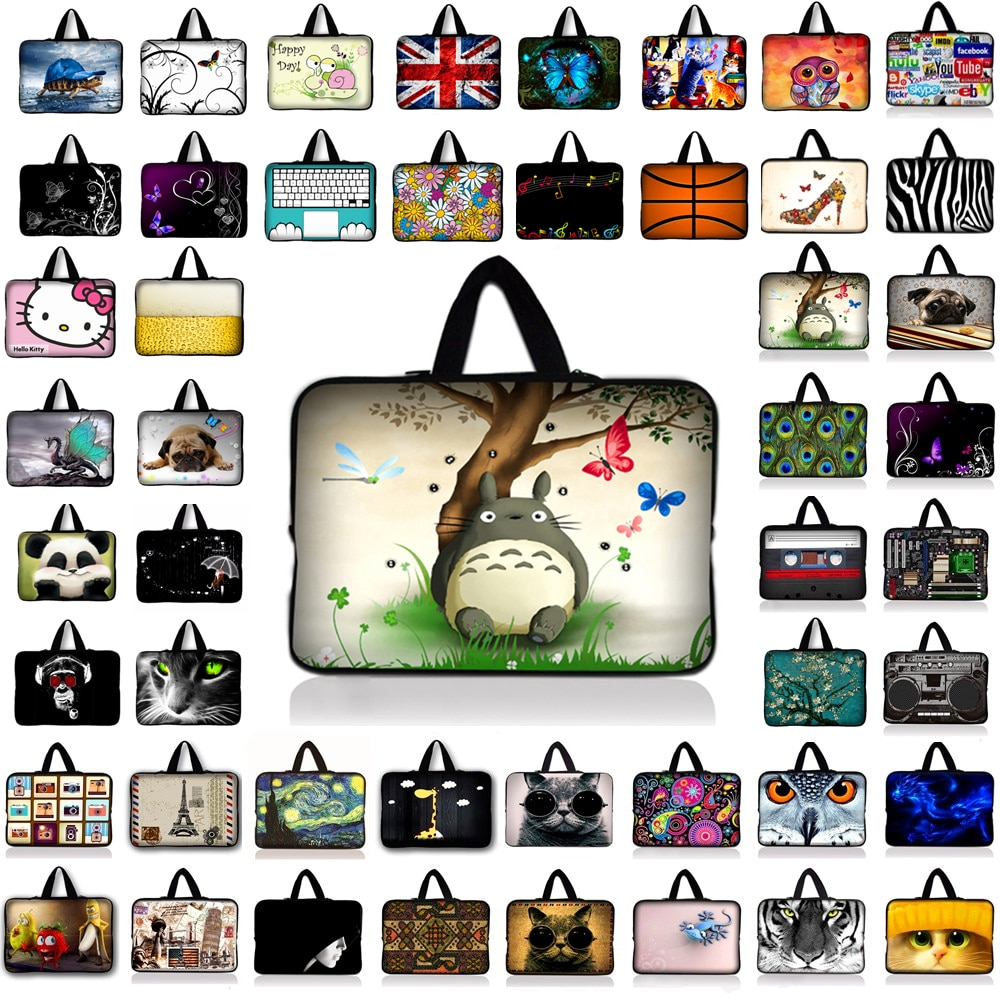 9.7 10 12 13 15 17 inch laptop bag tablet sleeve cases PC handbag 13.3 15.6 11 14 inch computer note