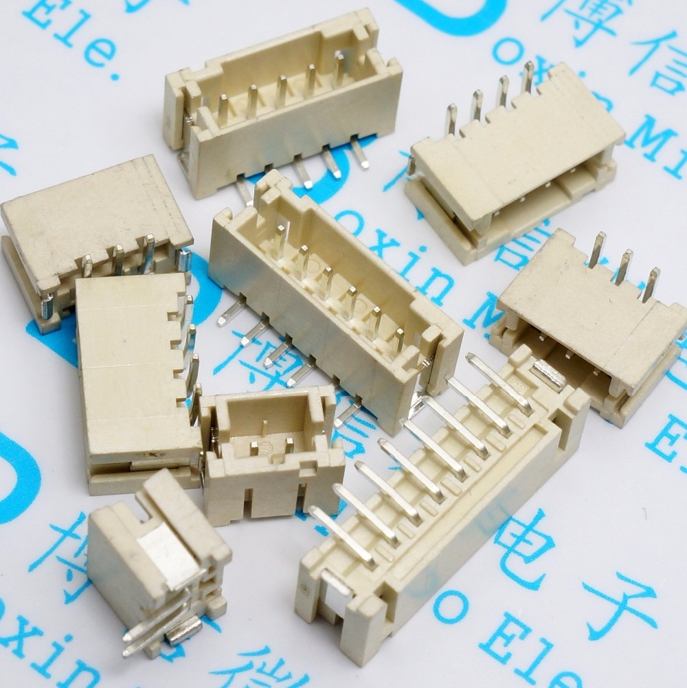 Li publicado PH2.0mm espaciado 2,0 2P / 3P / 4P / 5P / 6P / 8P Vertical SMD hembra hub