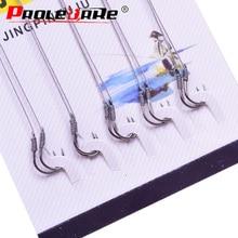 10pcs/bag Iseama Circle Carp Eyed Fishing Hook Size 1 2 3 4 5 6 7 8 9 10 11 12 13 Ring eye Japan High-carbon steel Fish hook