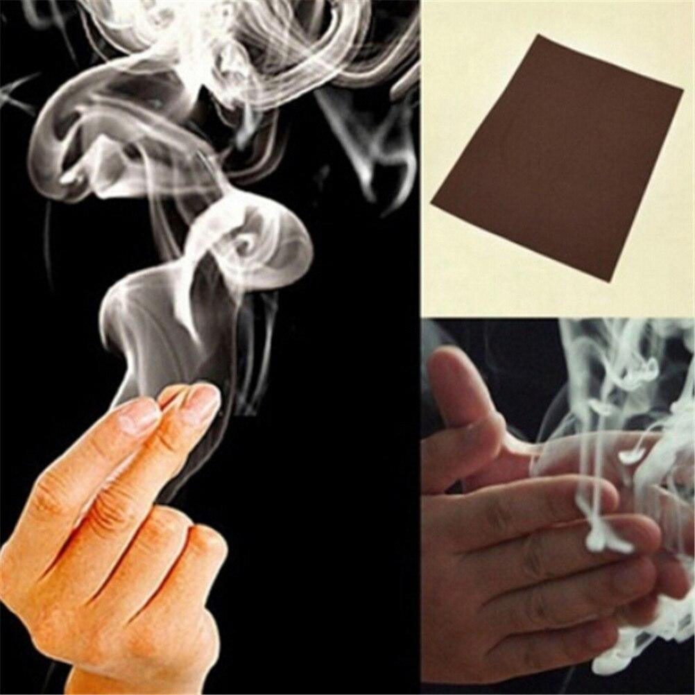 5 Pieces Magic Trick Smokes Surprise Prank Joke Mystical Fun Magic Smoke from Finger Tips Interesting Hot Sell