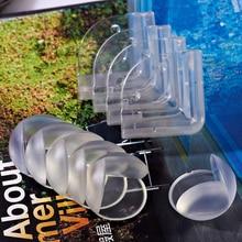 10 Uds. Productos de seguridad para niños y bebés, productos de seguridad para niños, protectores de cojines de esquina de la Mesa de vidrio, protectores de silicona para niños