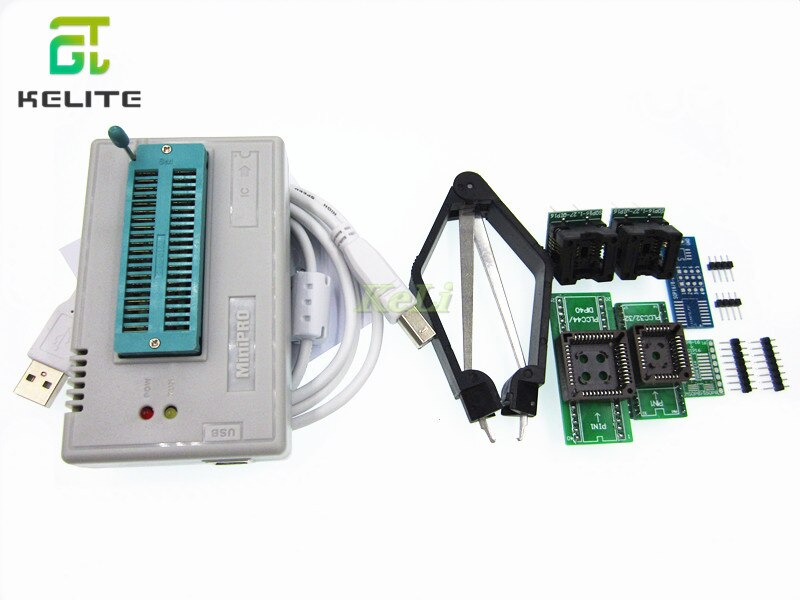 1 مجموعة V7.05 TL866II زائد مبرمج USB EPROM Nand فلاش BIOS EEPROM فلاش 8051 24 93 25 أيضا proman أفضل من TL866A/CS