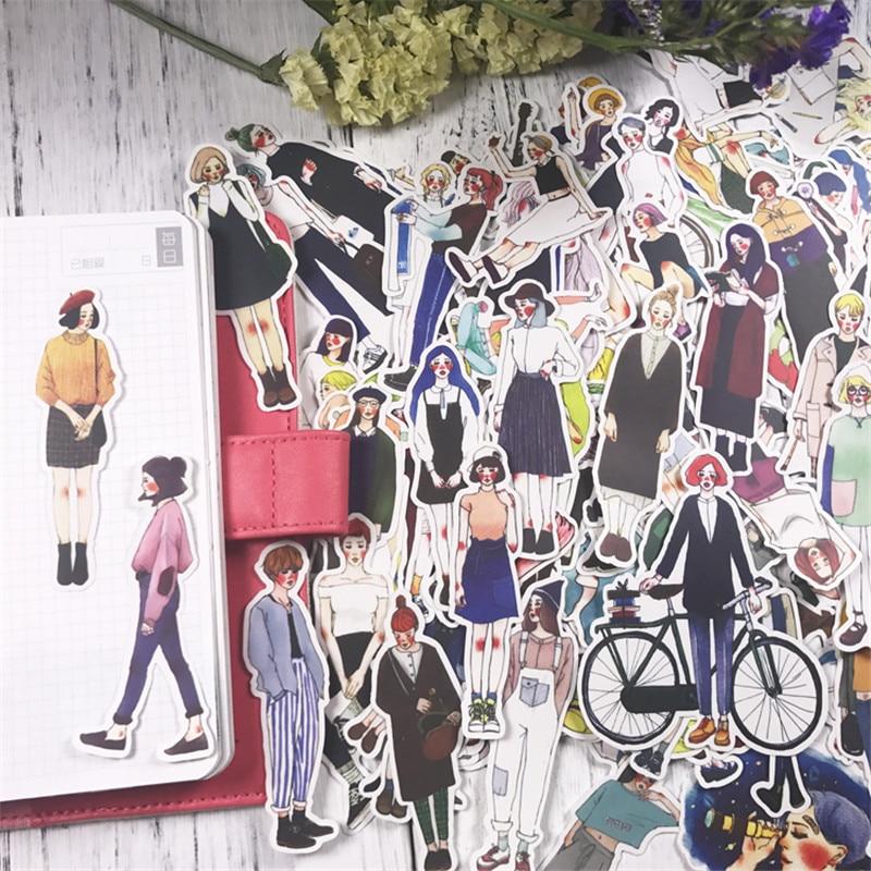 Наклейки для ноутбука, милые наклейки для девочек, наклейки для скрапбукинга, детские игрушки, украшения для дневника, своими руками, 171 шт./лот