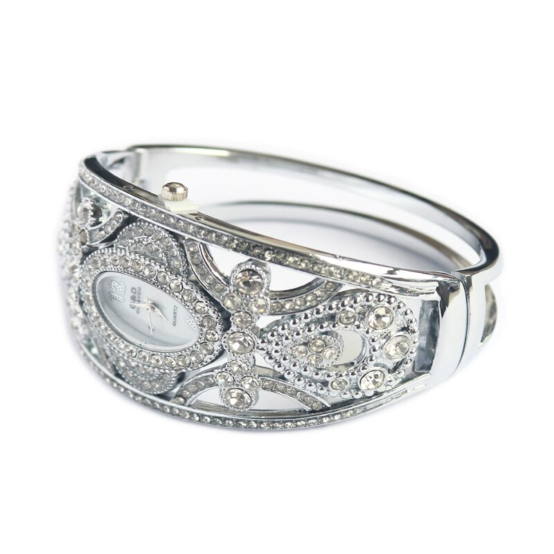 WA123 Brand New G&D Luxury Women Watches Silver Fashion Bracelet Watches Ladies Quartz Wristwatches Relogio Fminino Dress Watch enlarge