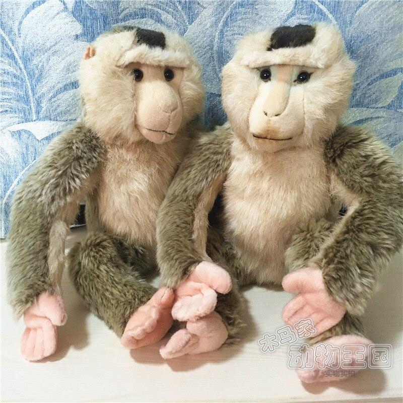 Juguetes de peluche muñeca mono babuino 35cm 1 Uds
