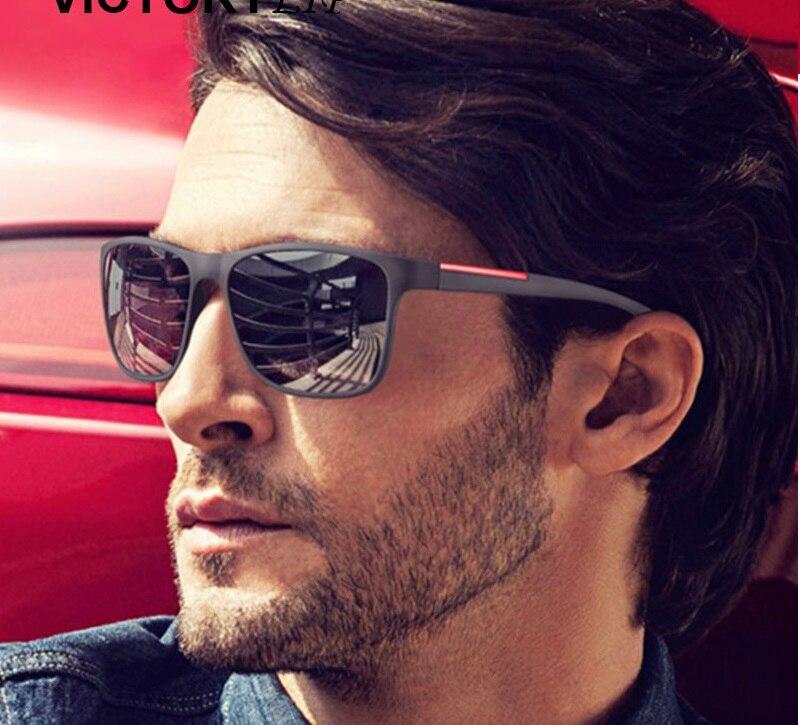 Nova moda óculos de sol homem condução óculos de sol para homem design da marca alta qualidade espelho eyewear masculino brand sun glasses designer sun glassesfashion sun glasses -