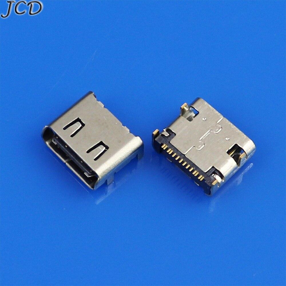 JCD 1 Uds para Gionee M5plus M5 plus enchufe de muelle conector hembra nuevo Puerto de carga Micro USB