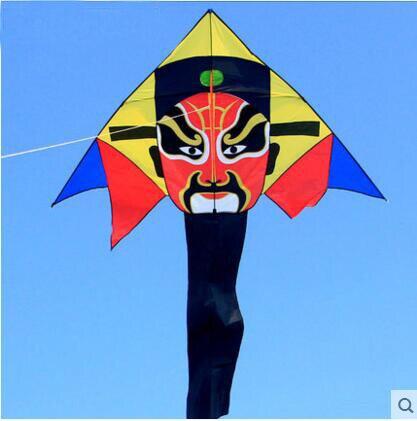 Envío Gratis alta calidad china tradicional kite peking opera kite juguetes voladores ripstop nylon aves águila kite rueda pulpo