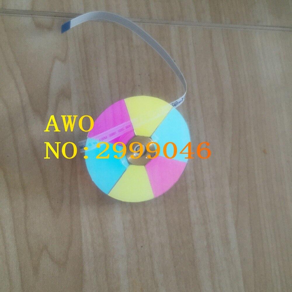 جديد الأصلي استبدال العارض عجلة الألوان ل بينكيو PE8700 PE7700 اللون عجلة DLP العارض