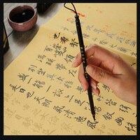 10 sheet/pack Chinese Copybook Rice paper of Lan Ting Xu Wang xizhi brush calligraphy copybook water hick rice paper