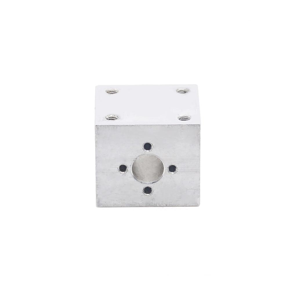 T8 Lead Screw Nut Housing Bracket For 3D Printer Parts T8 Trapezoidal Lead Screw Conversion Nut Seat Aluminum Block