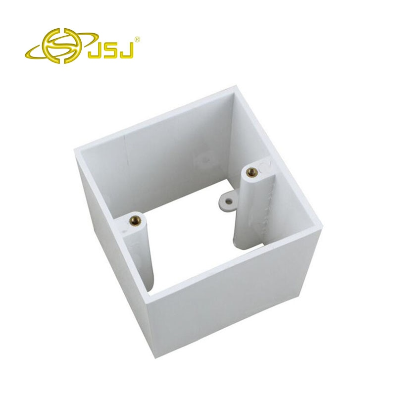 JSJ N86-900 caja inferior gruesa de aumento 86 se puede montar en superficie y módulo oculto envío gratis