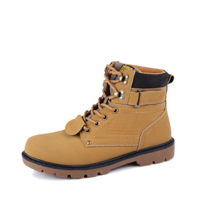 2019 Men Ankle Boots Fashion Martin Boots Snow Boots Outdoor Casual Cheap Timber Boots Lover Autumn Winter Safety Shoes NO.153