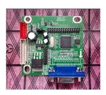 Frete Grátis! 1pc mt6820 GOLD-A7 universal lvds lcd driver placa de tensão 5 v suporte 8-42 polegada