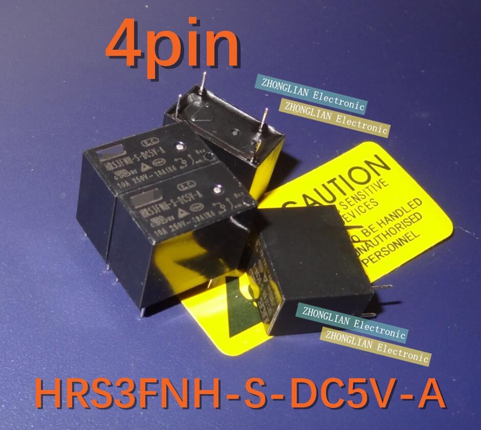 100 قطعة/الوحدة للأغراض العامة التقوية HRS3FNH-S-DC5V-A مصباح التحكم تحميل تحميل بالسعة 4 أقدام 10A