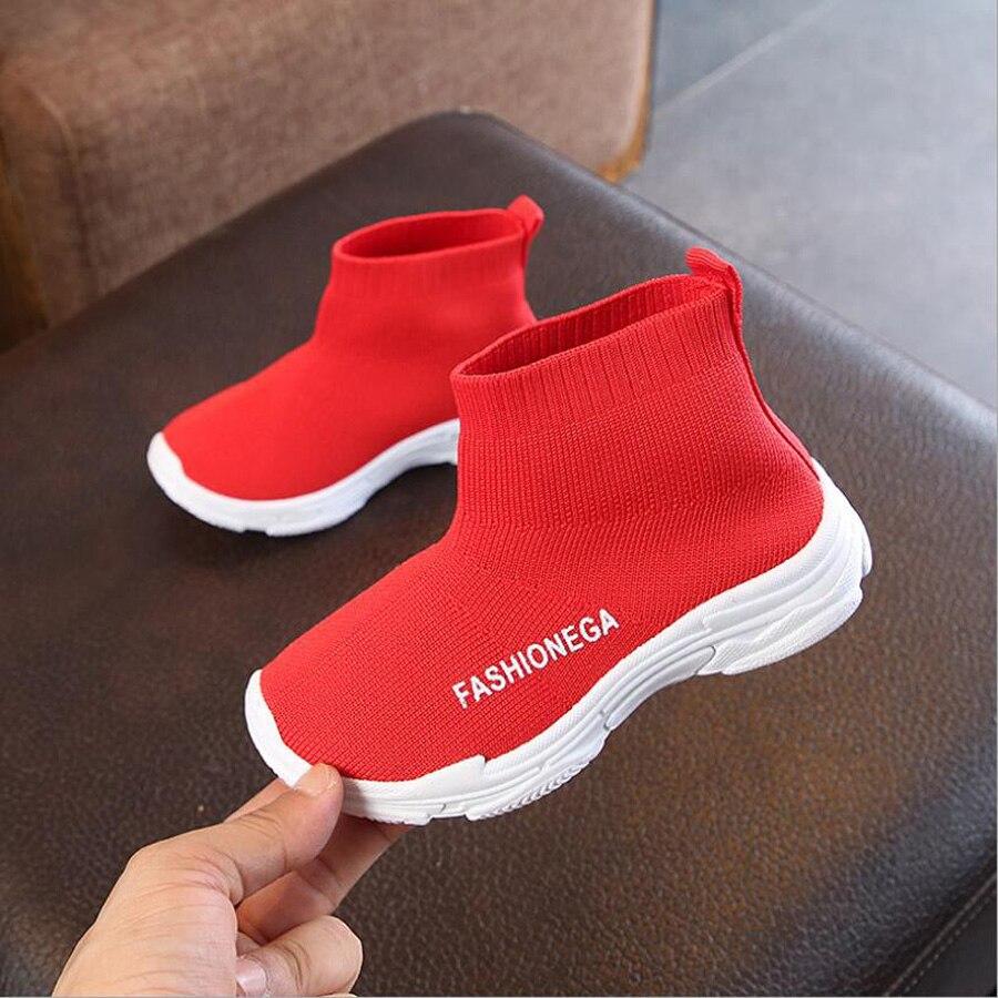 Zapatillas informales para niños, zapatos cómodos para niñas, zapatos para bebés, zapatos para niños pequeños, zapatillas rojas negras antideslizantes, zapatos deportivos para niños