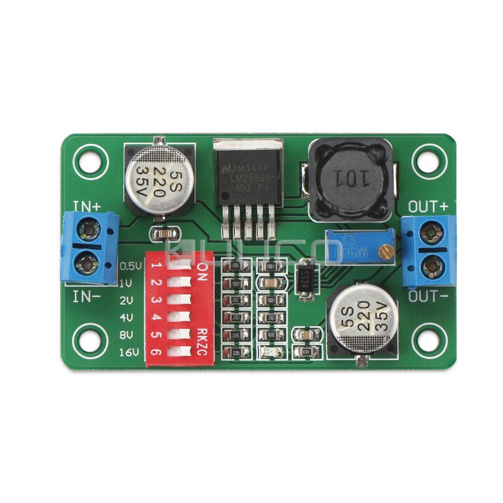 5 unids/lote cc 12V 24V adaptador CC 5 ~ 36V a 1,5 33 33V 3A módulo de fuente de alimentación/convertidor reductor/regulador/módulo de controlador