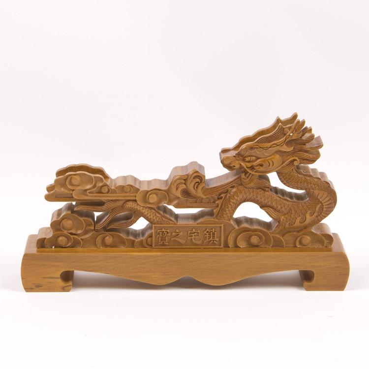 Madeira dragão samurai espada katana wakizashi tanto suporte de exibição rack marrom