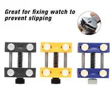 Watch Repair Wristwatch Repairing Vise Tool Open Watch Case Holder Dial Fixer