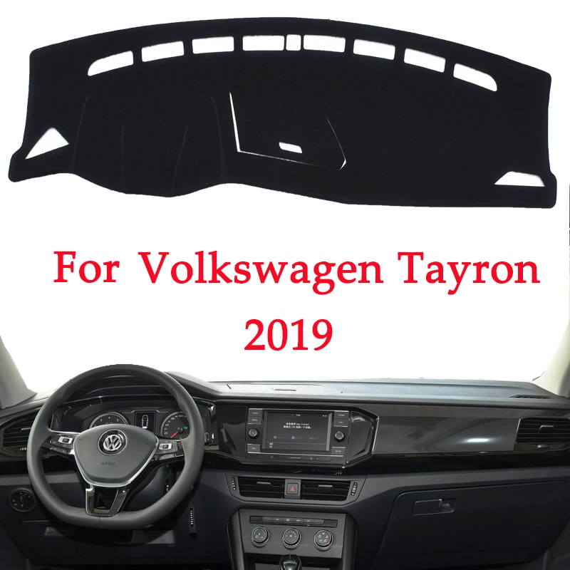 Panel de instrumentos para evitar la luz del coche para Volkswagen TAYRON 2019, alfombrillas de cubierta de escritorio de plataforma, alfombras, Producto interior automotriz