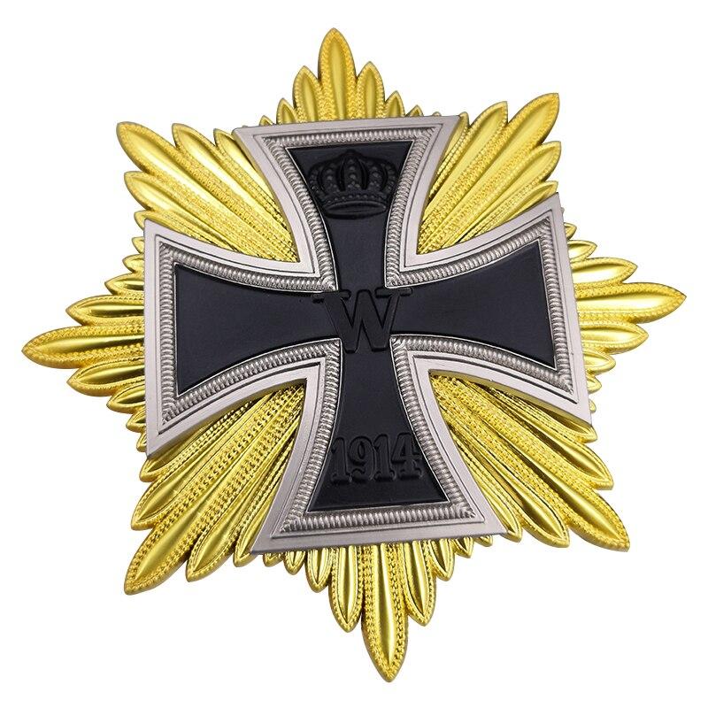 Немецкий Железный значок с крестом военные Медали брошь WWI Deutsche wehrmacht армейская булавка