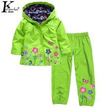 Combinaisons de Sport pour filles   Ensembles de vêtements pour enfants, Costume imperméable pour filles, vêtements de survêtement pour enfants