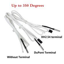 5pcs m3x15 350Degrees HT-NTC100K Thermistor High Temperature Sensor Replace K-type thermocouple f/ 3D Printer Chimera V6 Hotend