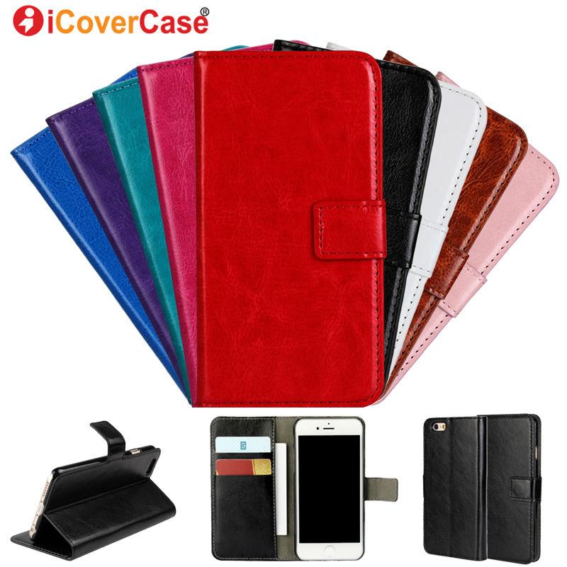 Retro Crazy Horse Wallet Leather Case for iPhone 6 6 Plus Flip Cover for iPhone X 4 4s 5 5s 6 6s 5C 7 7 8 Plus Case Cover Etui