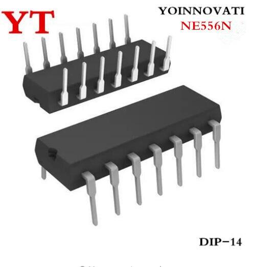 ¿50 unids/lote NE556N NE556 556 DIP14 mejor calidad ic?