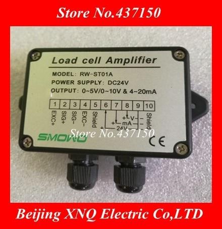 Amplificador de celda de carga transmisor de peso sensor de tensión amplificador de calibre 0 10 10V y 4 ~ 20mA y 0 5 5V y 4 ~ 20mA transductor de celda de carga,