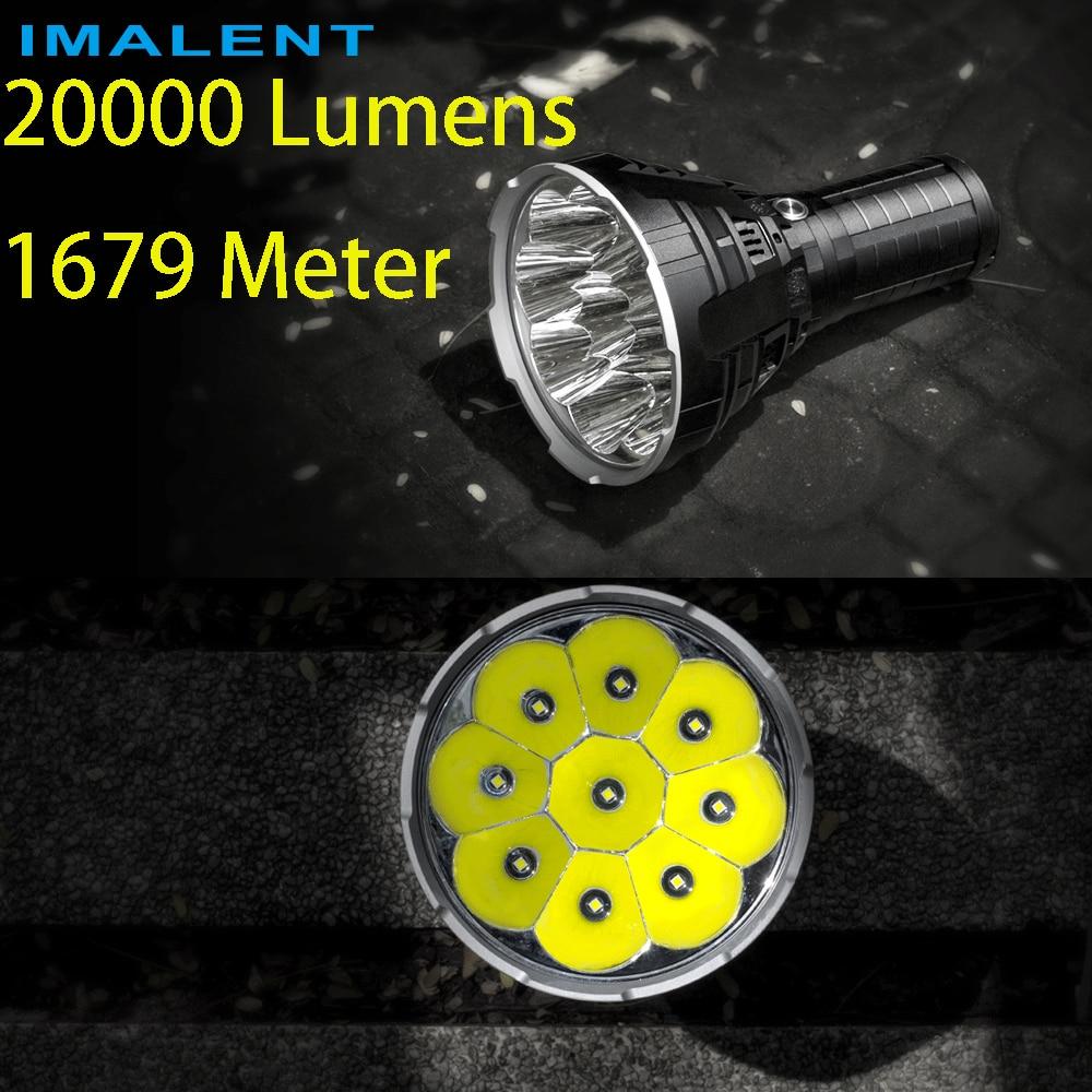 advance selling NEW IMALENT R90C 9* CREE XHP35 HI LED Flashlight 20000 Lumens 1679 Meters  Torch Flashlight    (PK DX80)