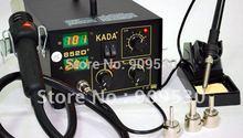 Free shipping KADA 852D+ Digital Hot Air rework station 110V 220V