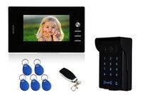 7 inch IR Night Vision Password/ ID Card/Remote Control Video Door Phone