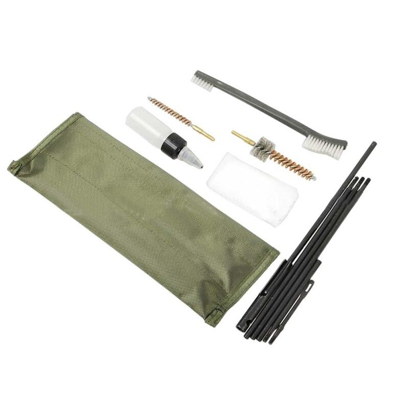 Neue 22 22LR. 223 556 gewehr Pistole Reinigung Kit Set Reinigung Stange Nylon Werkzeuge Reiniger Pistole Reinigen Pinsel 10 Stück