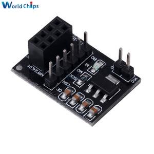 AMS1117 розетка адаптер пластина плата для 8Pin NRF24L01 беспроводной приемопередатчик модуль 51