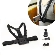 Einstellbare Chest Mount Harness Gürtel Strap Zubehör Kit Für Sony Action Cam Sport Camcorder für AS100V AS200V 15 Zubehör