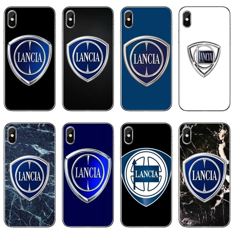 Luxus auto LANCIA logo tpu soft case Für Samsung Galaxy A10 A30 A40 A50 A60 A70 Huawei P30 lite pro P Smart Y6 2019
