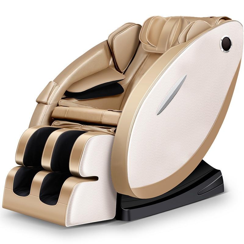 NEW Zero Gravity Massage Chair Full Body Electric Heating Recline Massage Chair Intelligent Shiatsu Massage Sofa Free Shipping