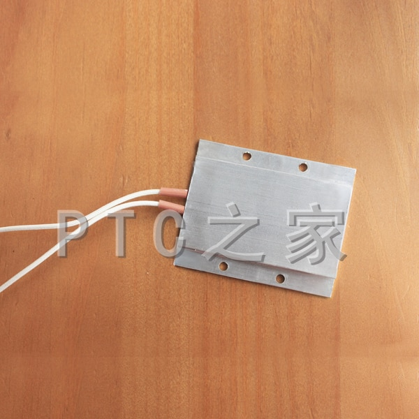 Basse tension 12V24V36V48V110V thermostatique isolé en céramique PTC liquide chauffage plaque 77*62