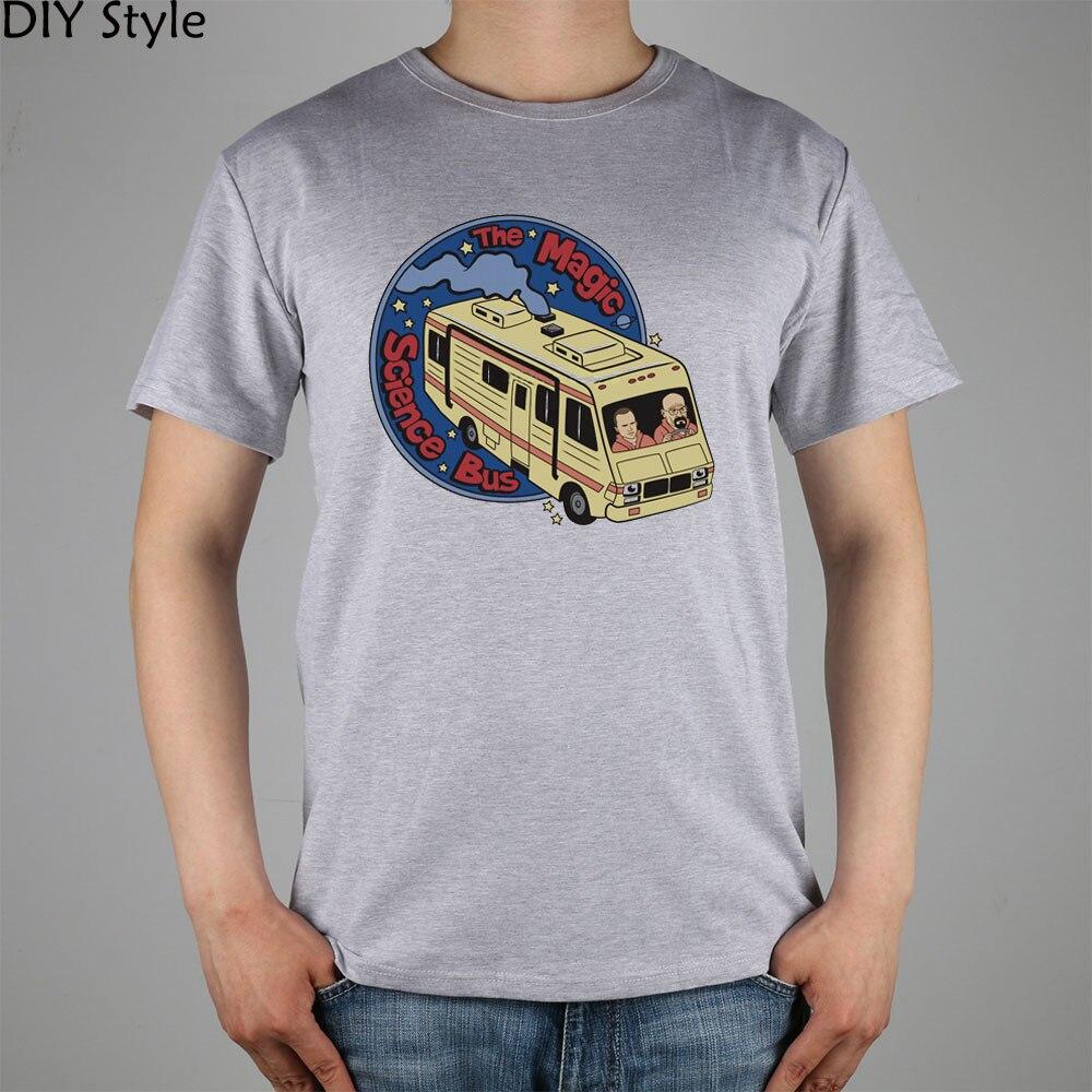 RV BREAKING BAD camiseta Top Lycra algodón hombres camiseta nueva