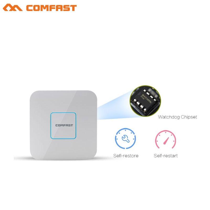 COMFAST CF-E355ACV2 1200Mbps תקרת AP WiFi גישה נקודת 5GHz מקורה AP Wi-Fi נתב 802.11ac/b/g/n 48V POE openWRT אלחוטי AP