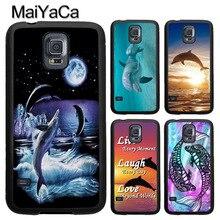 Dauphin Sautant Coucher Du Soleil Pour Samsung Galaxy A71 A51 A50 A70 A10 A20 A30S A40 Note 10 S8 S9 S10 S20 Ultra Plus S10e