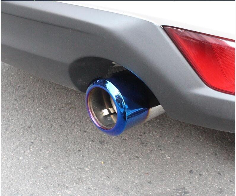 ¡Envío Gratis! Silenciador de tubo de escape de acero inoxidable para Mazda cx-5 CX5 2017 2018 para outlander accesorios de automóvil 2 uds