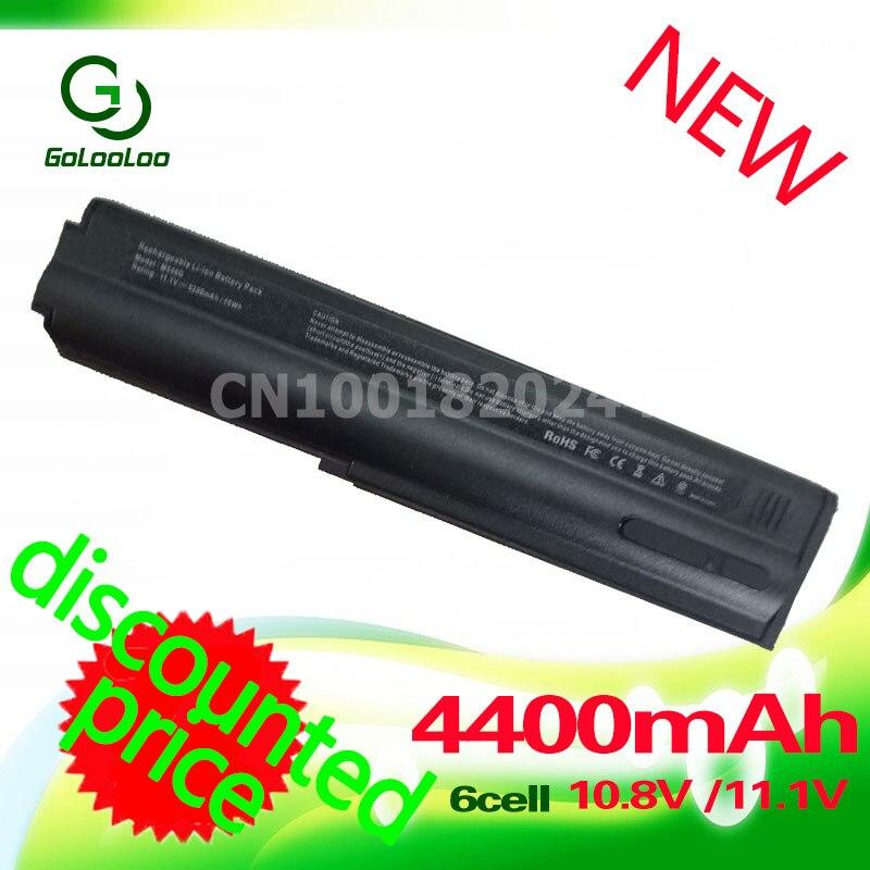Golooloo 4400 мАч Аккумулятор для ноутбука m54g для Clevo m540bat-6 m545bat-6 M54 m55 серии m54n m54v m550g m550n m550v 87-m54gs-4d31 батарея для ноутбука
