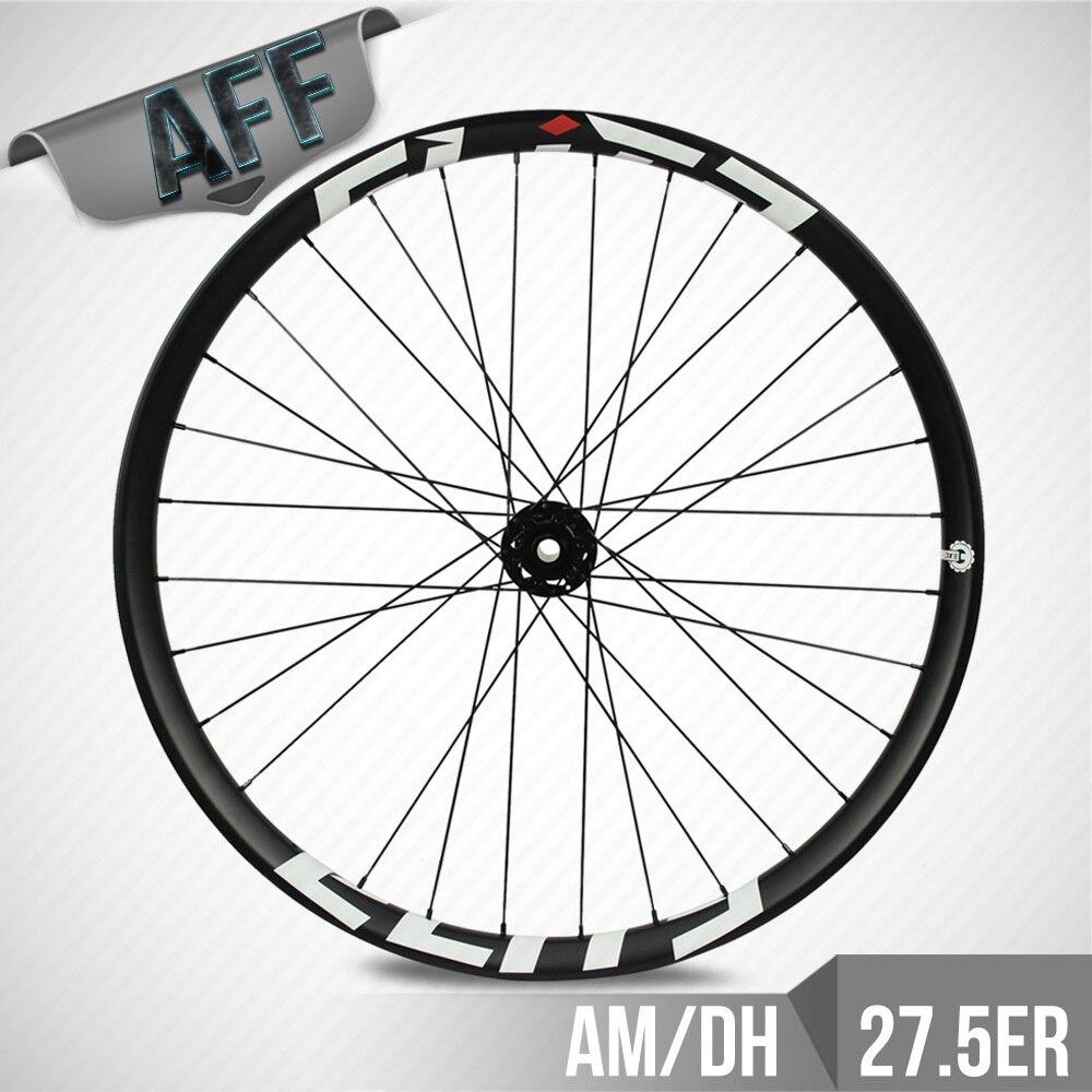 ELITE MTB Wheelset 27.5er Plus MTB Wheel 50mm Wider Tubeless Ready Carbon Wheel For AM DH Enduro Mountain Bike