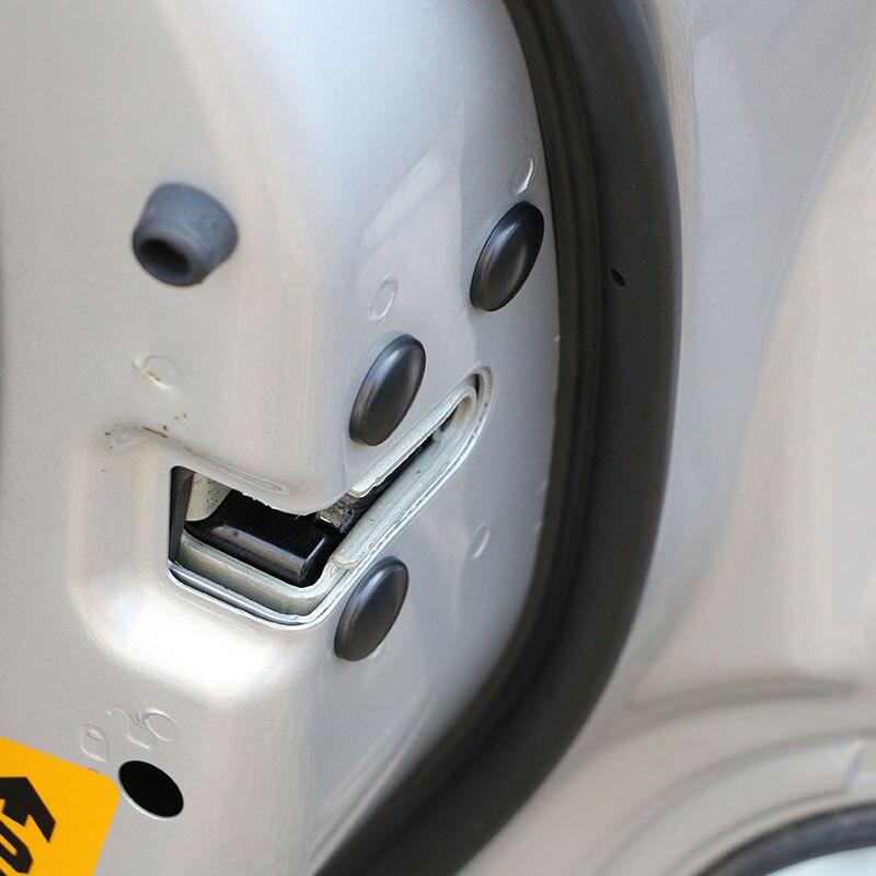 Fechadura da porta do carro parafuso protetor capa adesivos para lada granta largus kalina niva priora vesta xray para mazda 2 3 6 CX-5 CX-3 MX-5
